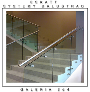 Balustrades self-supporting
