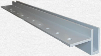 ES-GLASS-PROFIL-3000-500 - side profile adapted to the height of the floor